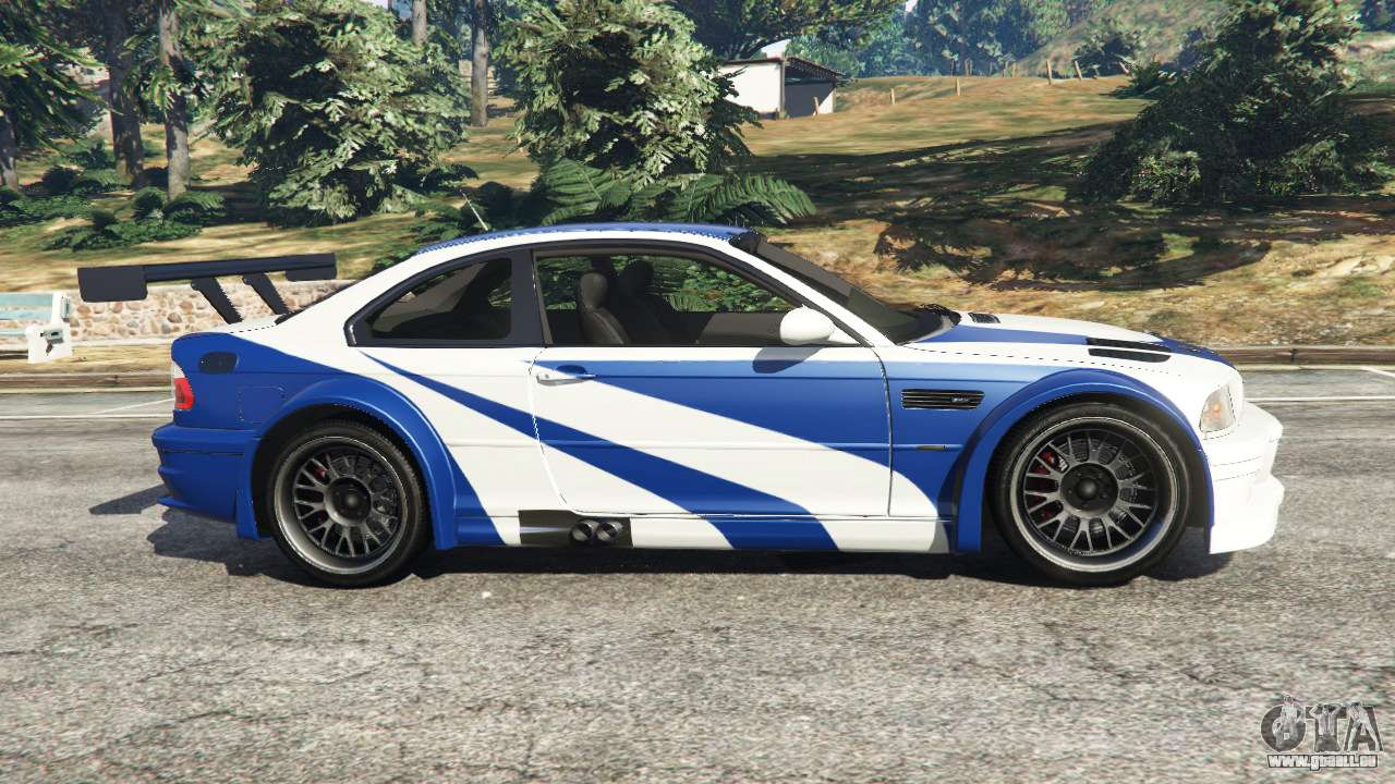 bmw m3 gtr e46 most wanted f r gta 5. Black Bedroom Furniture Sets. Home Design Ideas
