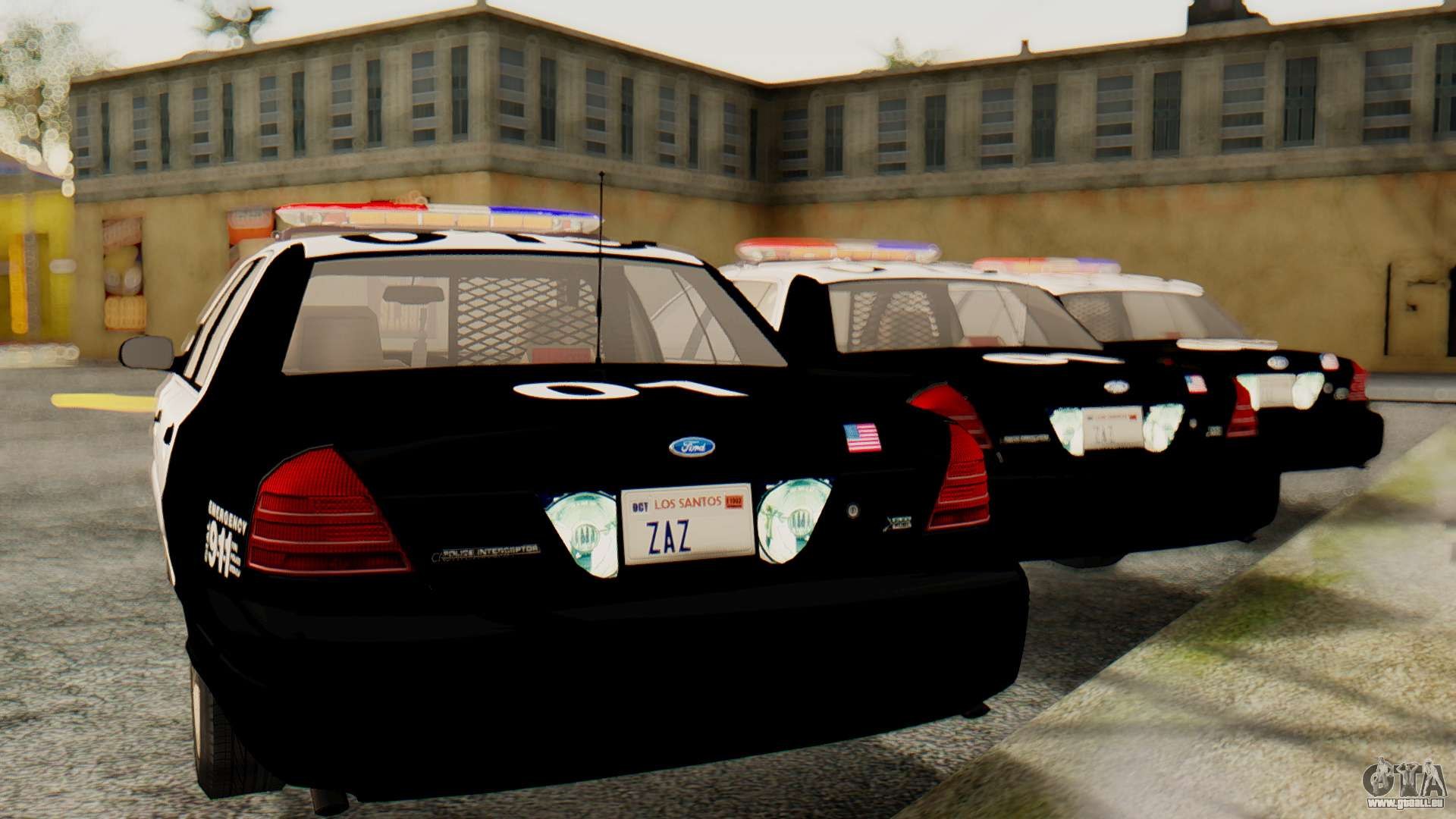 Ford Crown Victoria 2009 Lapd Pour Gta San Andreas