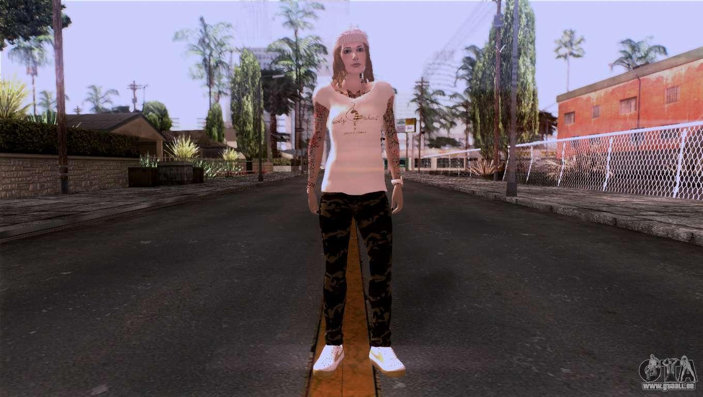 La Peau De Fille Pour Gta San Andreas-2245