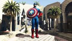 Statue Von Captain America