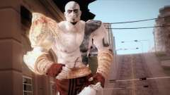 God Of War 3 Kratos Blue pour GTA San Andreas