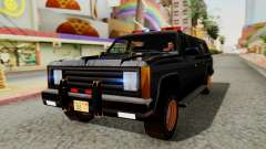 FBI Rancher with Lightbars pour GTA San Andreas