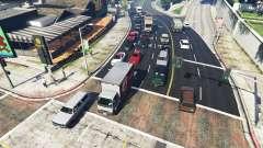 Realistisch füllen die Straßen und Wege 8GBRAM