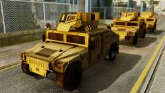 PR BF2 US Army UpArmored Humvee Armed with MK19