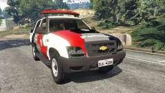 Chevrolet Blazer Sao Paulo State Police