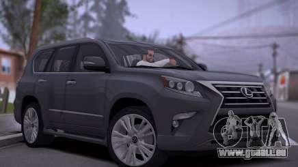 Lexus GX460 2014 pour GTA San Andreas