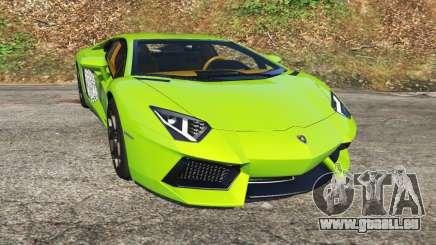 Lamborghini Aventador LP700-4 v1.0 für GTA 5