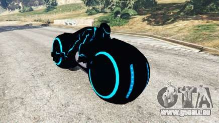 Tron Bike blue für GTA 5