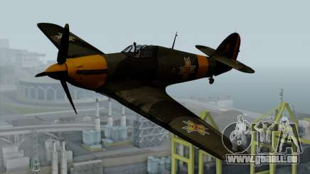 Hawker Hurricane Mk1 - Romania Nr. 1 pour GTA San Andreas