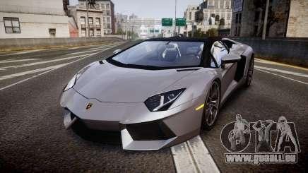 Lamborghini Aventador Roadster für GTA 4