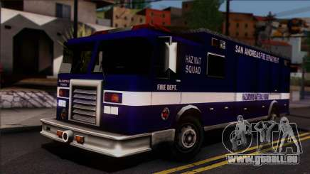 FDSA Hazardous Materials Squad Truck für GTA San Andreas