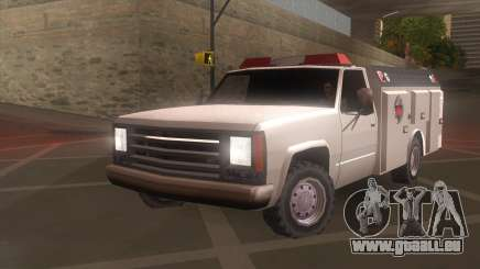 FDSA Fire Van für GTA San Andreas