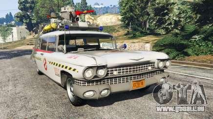 Cadillac Miller-Meteor 1959 ECTO-1 v0.1 [Beta] pour GTA 5