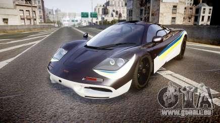 McLaren F1 1993 [EPM] Black F1 LM pour GTA 4