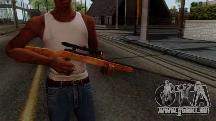 Original HD Sniper Rifle pour GTA San Andreas