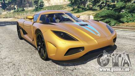 Koenigsegg Agera v0.8 [Early Beta] für GTA 5