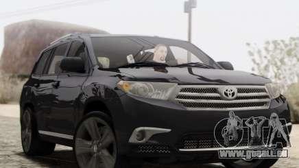 Toyota Highlander 2011 pour GTA San Andreas