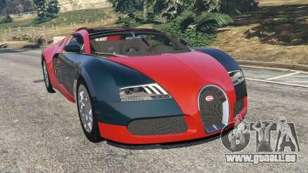 Bugatti Veyron Grand Sport v3.3 für GTA 5
