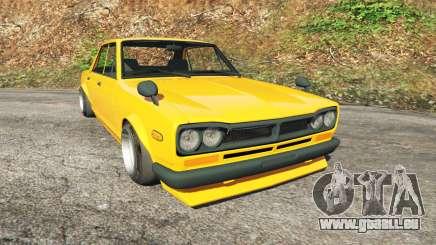 Nissan Skyline 2000 GT-R 1970 v0.3 [Beta] pour GTA 5