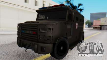 GTA 5 Enforcer Raccoon City Police Type 1 für GTA San Andreas