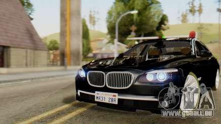 BMW 750Li 2012 pour GTA San Andreas