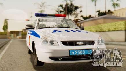 Lada 2170 Priora la police de la circulation de la région de Nijni Novgorod pour GTA San Andreas
