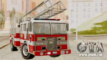 SAFD Fire Lader Truck für GTA San Andreas
