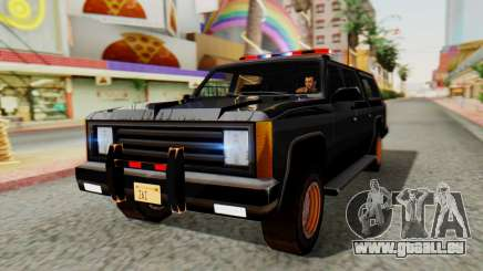 FBI Rancher with Lightbars für GTA San Andreas