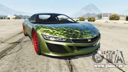 Dinka Jester (Racecar) Hulk pour GTA 5
