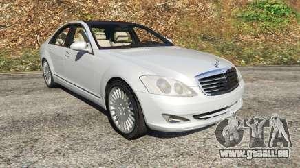 Mercedes-Benz S500 W221 v0.3 [Alpha] pour GTA 5