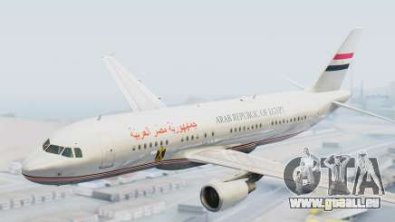Airbus A320-200 Egyptian Air Force One pour GTA San Andreas