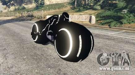 Tron Bike white für GTA 5