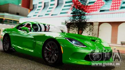 Dodge Viper SRT GTS 2013 IVF (MQ PJ) No Dirt pour GTA San Andreas