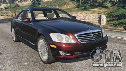 Mercedes-Benz S500 W221 v0.4 [Alpha] pour GTA 5
