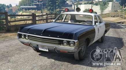 Dodge Polara 1971 Police v3.0 für GTA 5