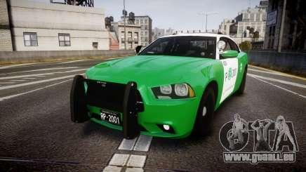 Dodge Charger Carabineros de Chile [ELS] v2.0 pour GTA 4