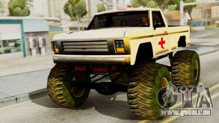 Nouvelle peinture originale pour Un Monstre pour GTA San Andreas