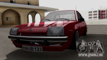 Opel Manta B1 für GTA San Andreas
