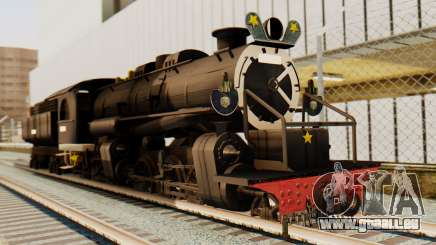 CC5019 Indonesian Steam Locomotive v1.0 für GTA San Andreas