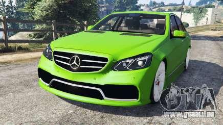Mercedes-Benz E63 (W212) AMG v1.1 pour GTA 5