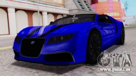 GTA 5 Truffade Adder Convertible pour GTA San Andreas