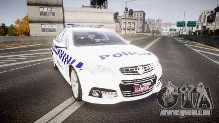 Holden VF Commodore SS NSW Police [ELS] pour GTA 4