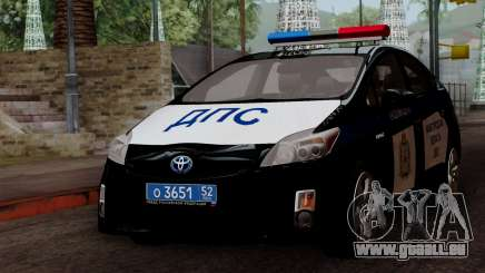 Toyota Prius ДПС pour GTA San Andreas