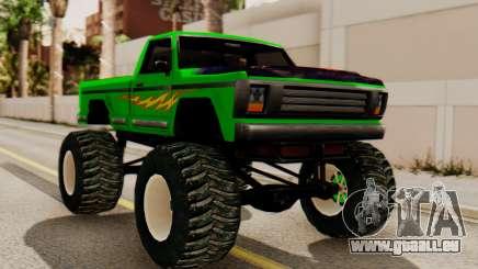 Monster New Texture für GTA San Andreas
