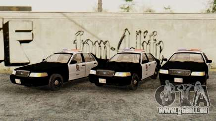Ford Crown Victoria 2009 LAPD pour GTA San Andreas