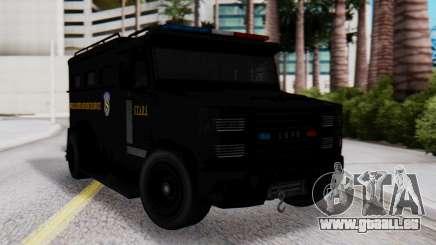 GTA 5 Enforcer Raccoon City Police Type 2 pour GTA San Andreas