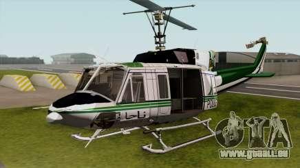 Bell UH-1N NAJA pour GTA San Andreas