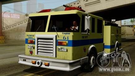 SAFD SAX Airport Engine für GTA San Andreas