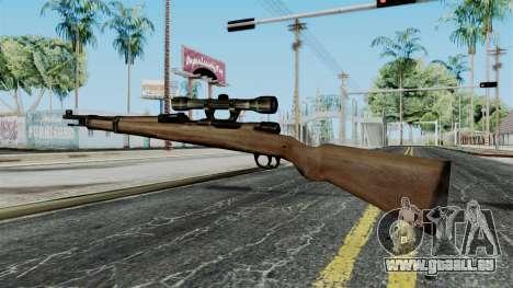 Kar98k Scope from Battlefield 1942 für GTA San Andreas zweiten Screenshot