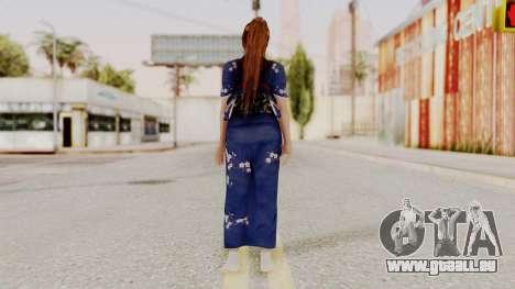 DOA 5 Kasumi Kimono für GTA San Andreas dritten Screenshot